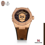 NSQUARE The Magician Automatic Watch N44.1 Magic RG Brown LIMITED EDITION||NSQUARE 魔術師系列 自動錶-46毫米  N44.1魔幻啡金限量版