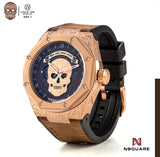NSQUARE The Magician Watch N44.1 Magic RG Brown LIMITED EDITION||NSQUARE 魔術師系列-46毫米  N44.1魔幻啡金限量版