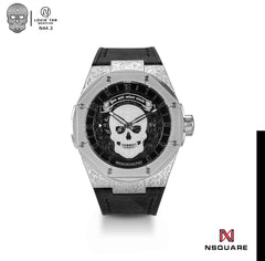 NSQUARE The Magician Watch N44.3 Magic Black LIMITED EDITION||NSQUARE 魔術師系列-46毫米  N44.3魔幻黑限量版