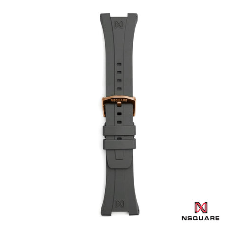 N48-Cool Gray rubber strap|N48-冷灰色橡膠帶