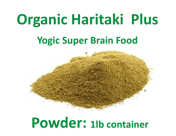 [Haritaki Capsules & Haritaki Powder] - Haritaki Plus - Yogic Super Brain Food