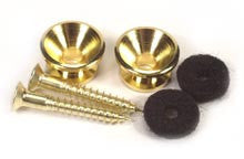 Peavey Guitar & Bass  Strap Button Gold