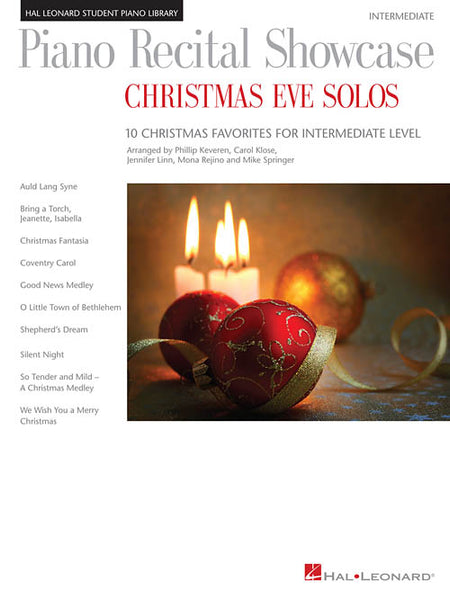 Piano Recital Showcase- Christmas Eve Solos