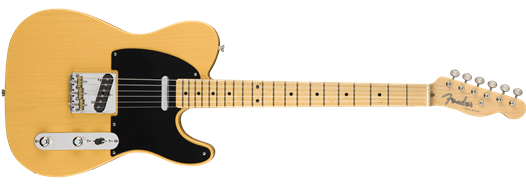 Fender American Original '50s Telecaster®, Maple Fingerboard, Butterscotch