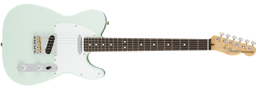 American Performer Telecaster® Sonic Blue Satin