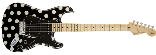Buddy Guy Standard Stratocaster® Maple Fingerboard Polka Dot