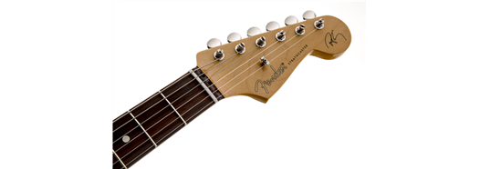 Robert Cray Stratocaster® Rosewood Fingerboard Inca Silver