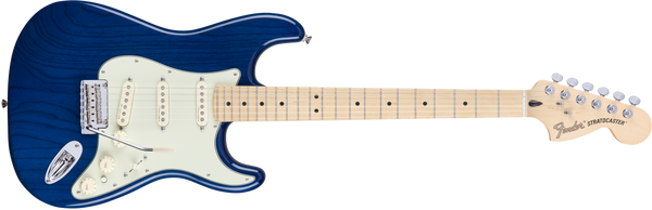 Fender Deluxe Stratocaster®, Maple Fingerboard, Sapphire Blue Transparent