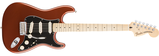 Fender Deluxe Roadhouse Stratocaster Classic Copper 2016