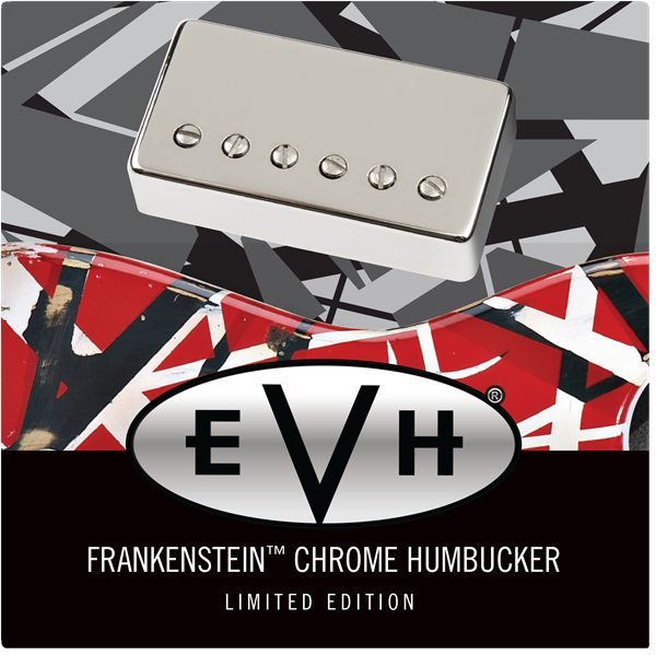 EVH Frankenstein Chrome Humbucker Limited Edition