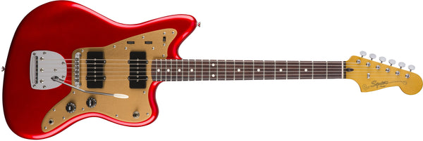 Squier Deluxe Jazzmaster® with Tremolo Candy Apple Red