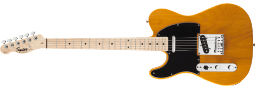Squier Affinity Series™ Telecaster® Left-Hand Butterscotch Blonde