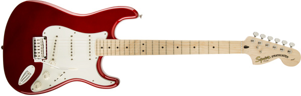 Squier Standard Stratocaster, Candy Apple Red