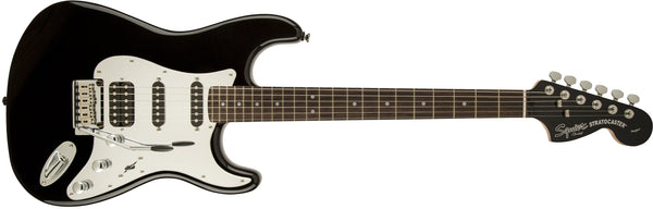 SQUIER BLACK AND CHROME STANDARD STRATOCASTER® HSS