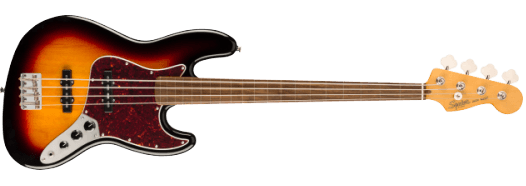 Squier Classic Vibe '60s Jazz Bass® Sunburst