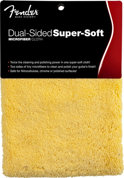 Super-Soft, Dual-Sided Microfiber Cloth