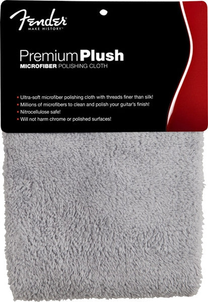 Premium Plush Microfiber Polishing Cloth, Gray