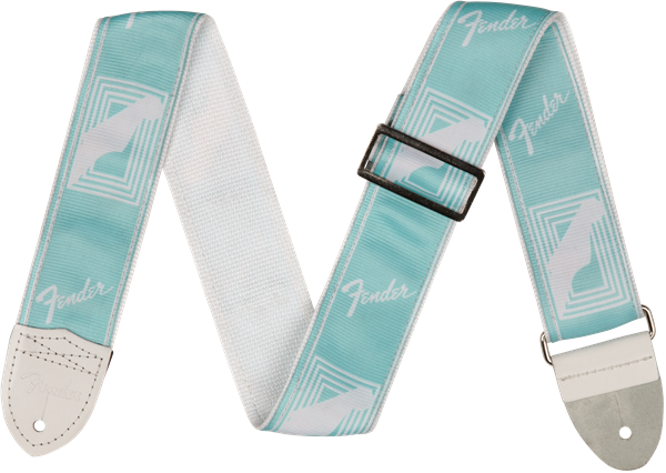"Fender 2"" CUSTOM COLOR FENDER® MONOGRAMMED STRAPS"