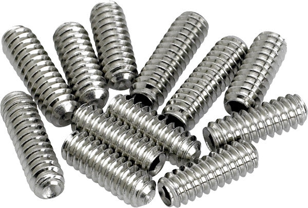 American Vintage Stratocaster®/Telecaster® Bridge Saddle Height Adjustment Screws (12) (Nickel)