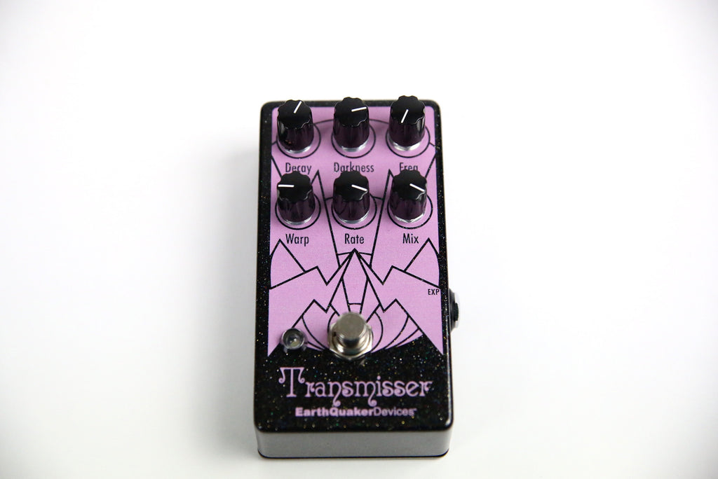 EarthQuaker Devices Transmisser Resonant Reverberator 2017