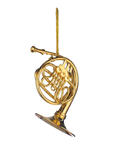 French Horn Christmas Ornament