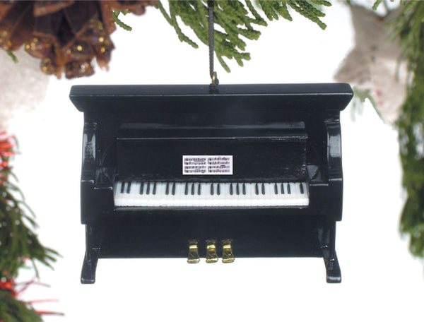 Piano Christmas Ornament