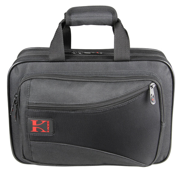 Kaces Lightweight Hardshell Clarinet Case, Black
