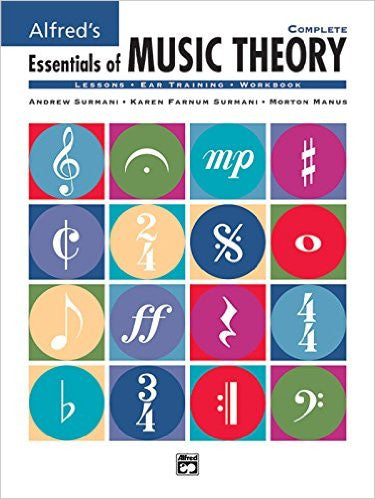 Alfred's Essentials of Music Theory - With CD