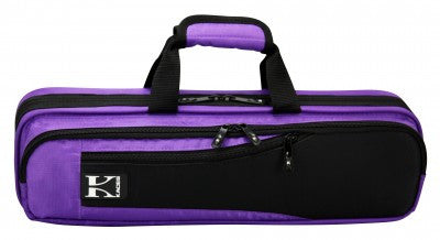 Kaces Lightweight Hardshell Flute Case, Purple