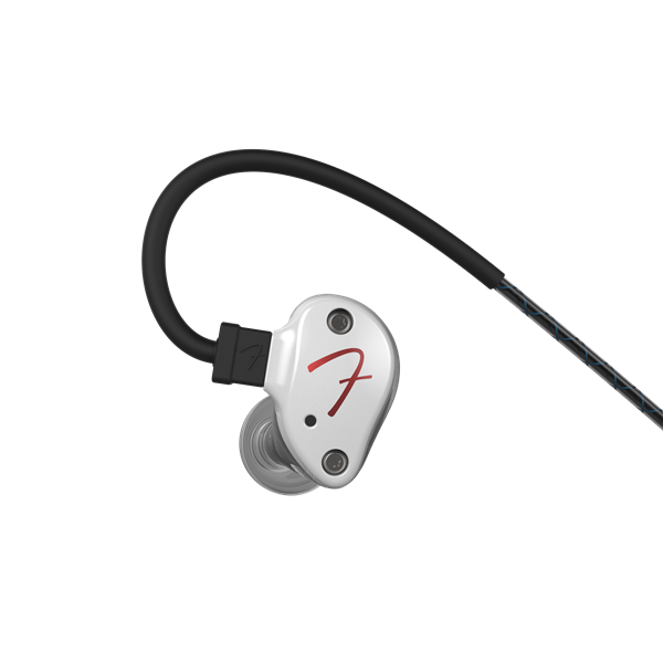 Fender PureSonic™ Wired Earbuds, Olympic Pearl