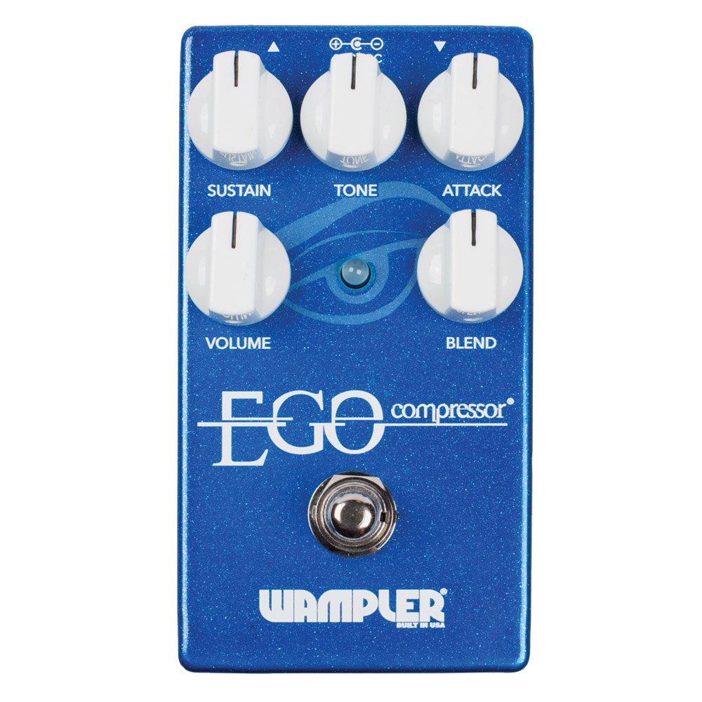Wampler Ego Compressor Pedal with Blend Control