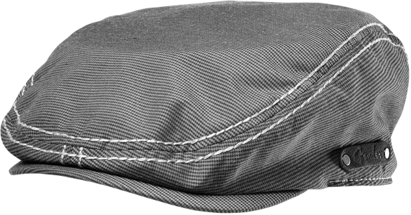 Fender Driver's Cap, BLACK/GREY CHECK