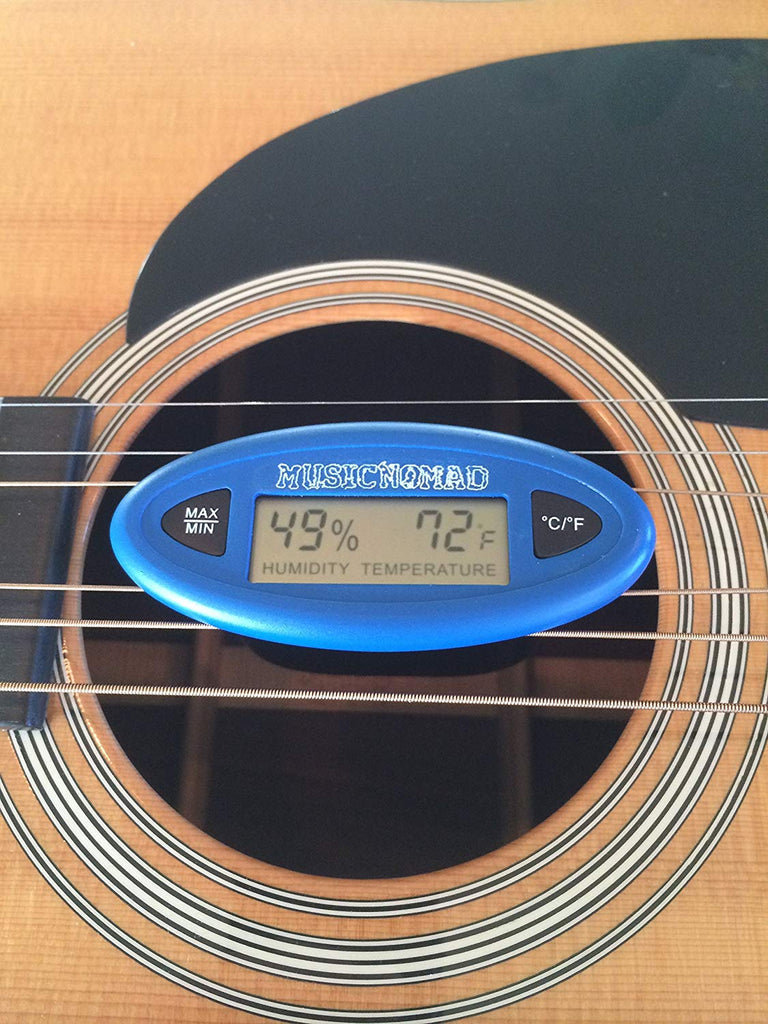 MusicNomad The HumiReader - Hygrometer Humidity & Temperature Monitor