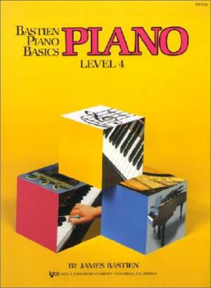Bastien Piano Basics Level 4