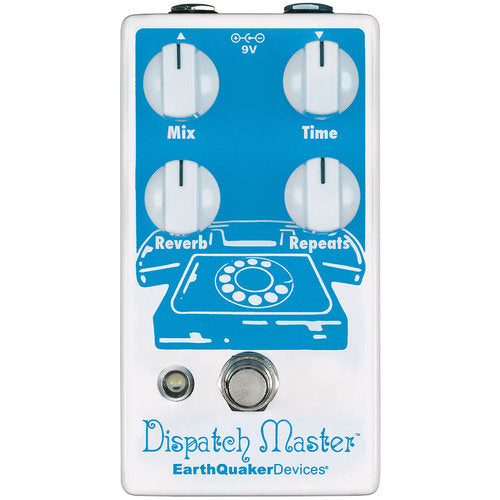EarthQuaker Devices Dispatch Master Digital Delay and Reverb