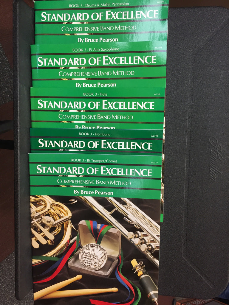 Standard Of Excellence Band Method Book 3