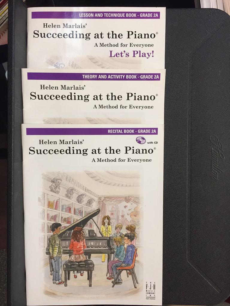 Succeeding at the Piano A Method for Everyone Grade 2A