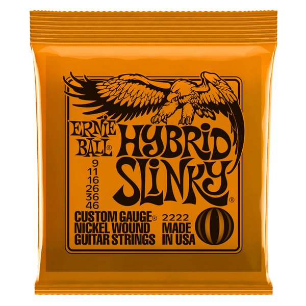 ERNIE BALL HYBRID SLINKY NICKEL WOUND ELECTRIC GUITAR STRINGS