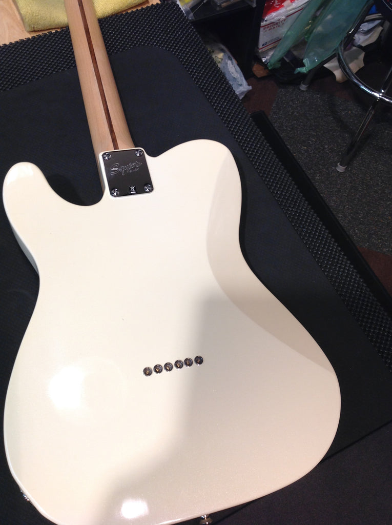 Squier CONTEMPORARY TELECASTER® HH, Pearl White