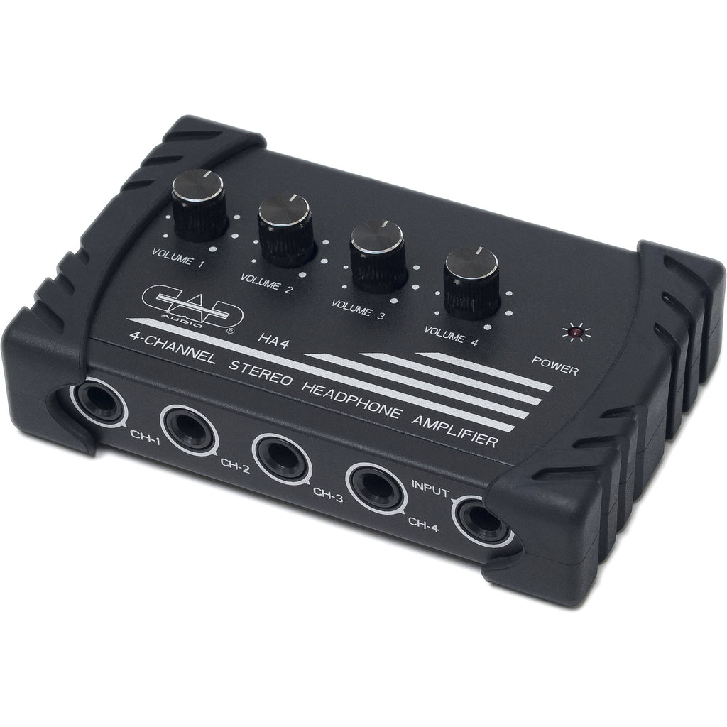 CAD HA4 Four Channel Stereo Headphone Amplifier