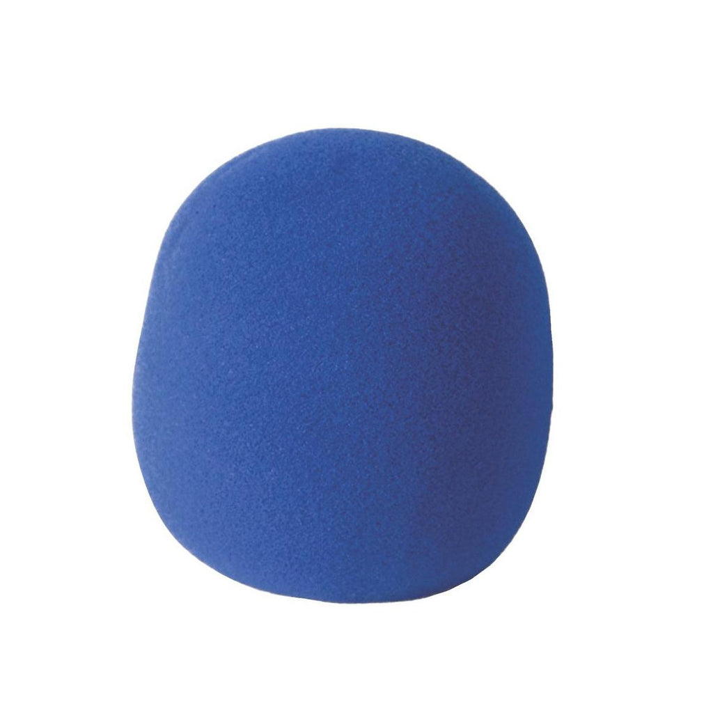 On-Stage Gear Foam Microphone Windscreen - Blue