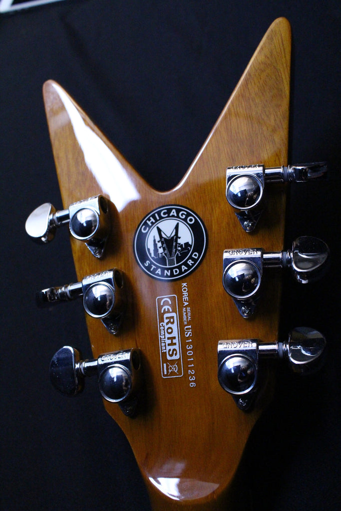 Dean Chicago Standard ML Gloss Natural with Hard Case