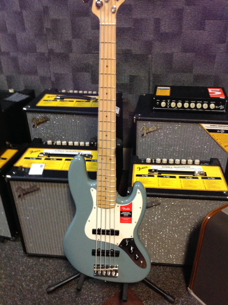 Fender American Professional Jazz Bass® V Sonic Gray