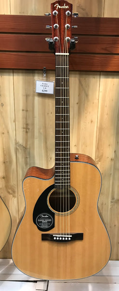 Fender CD-60SCE Left Handed