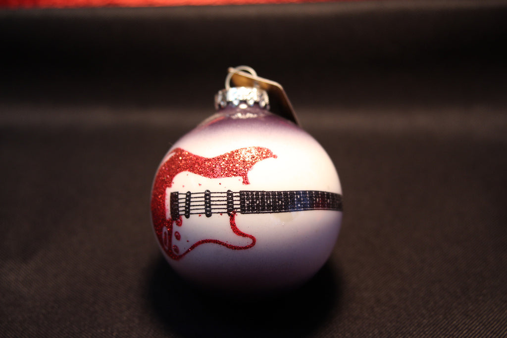 Electric Guitar Christmas Ornament Bulb