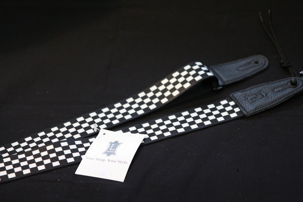 Levy's Checkered Guitar Strap