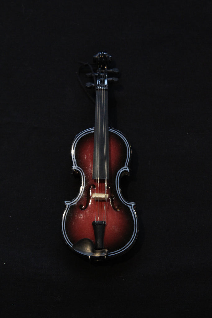 Large Violin Christmas Ornament
