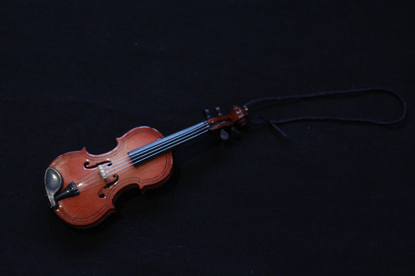 Small Violin Christmas Ornament
