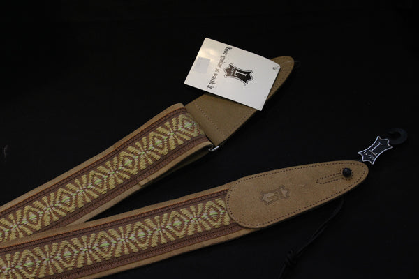 Levy's Woven Leather Guitar Strap
