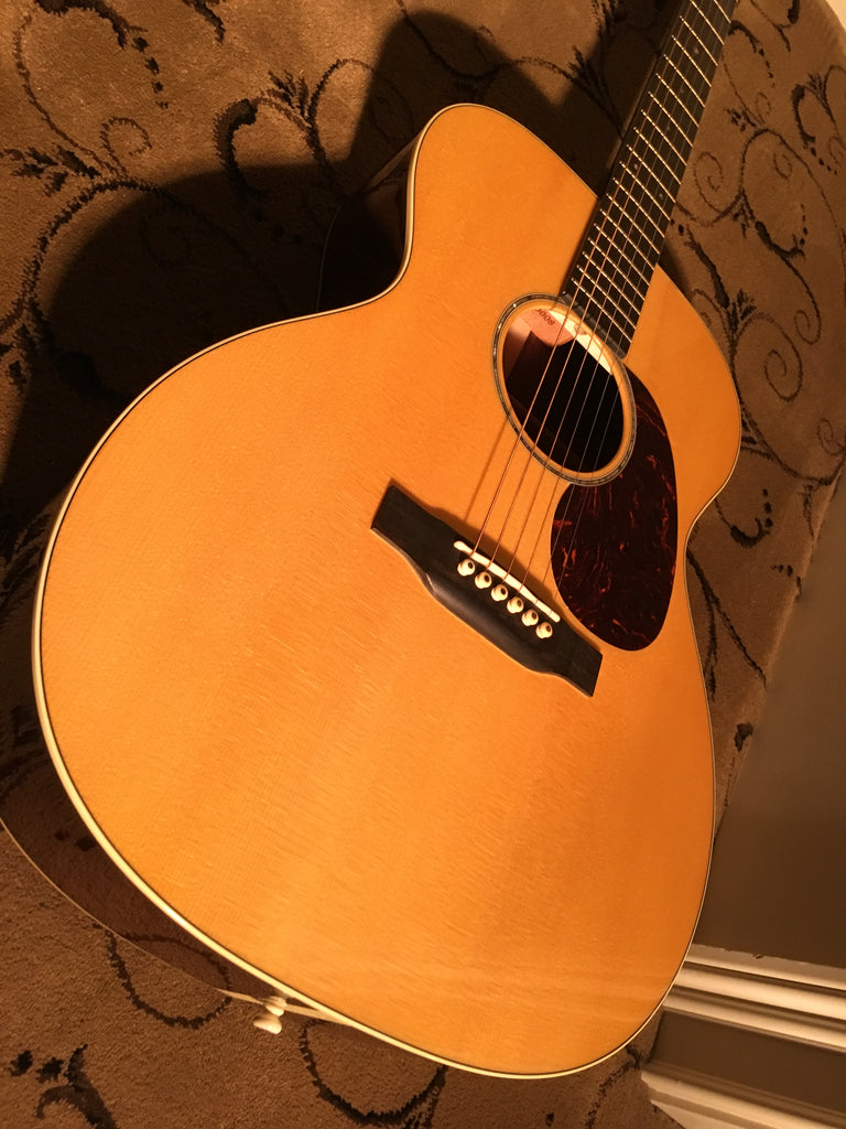 Martin 000-14 Custom Shop High Altitude Swiss Spruce Indian Rosewood 2014